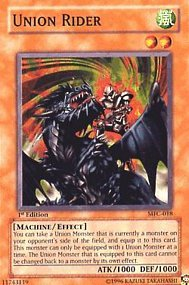 YuGiOh Rider Magician's Force Union Rider YuGiOh MFC-018 Common [Toy] d91802