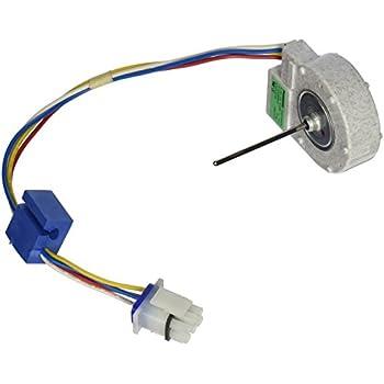 Ge wr60x10205 refrigerator fan blade home for Ge refrigerator evaporator fan motor problems