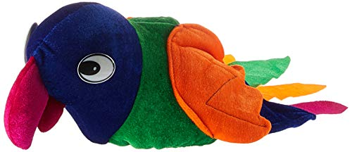 Jacobson Hat Company Men's Velvet Parrot Hat, Multicolor, Adult -