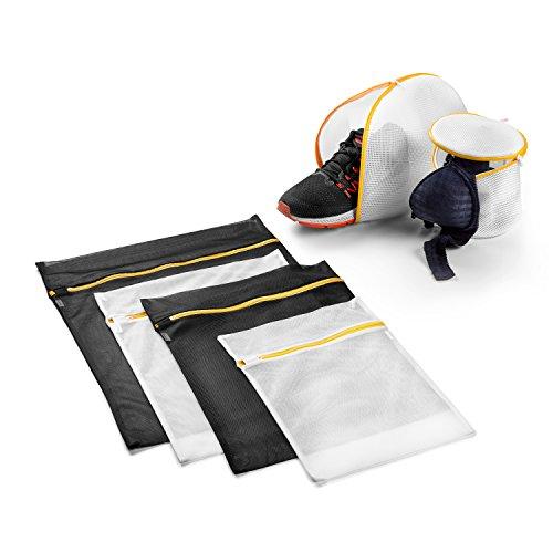 Wäschenetz-Set inklusive Wäschebeutel für Schuhe und BHs / Wäschesack für die Waschmaschine / 6 Stück / Premium Qualität