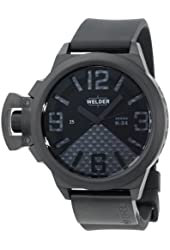 Welder Men's K24-3104 K24 Automatic Analog Black Ion-Plated Stainless Steel Round Watch