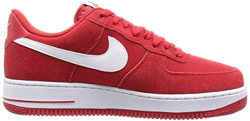 Nike Herre Air Force 1 07 Qs Basketball Sko Spil Rød / Hvid oS2gLdHn