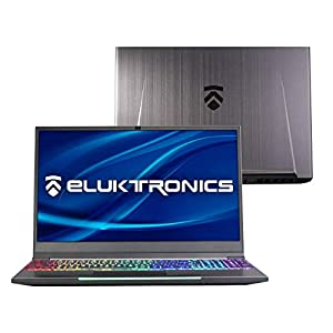 Eluktronics MECH-15 G2R Slim & Light NVIDIA GeForce RTX 2070 Gaming Laptop with Mechanical RGB Keyboard – Intel i7-8750H CPU 8GB GDDR6 VR Ready GPU 15.6″ 144Hz Full HD IPS 512GB NVMe SSD + 16GB RAM