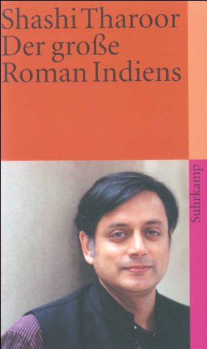 Der Große Roman Indiens  Suhrkamp Taschenbuch