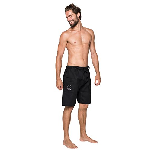 YOGiiZA Men's Organic Yoga Shorts - Mens Short Organic Cotton
