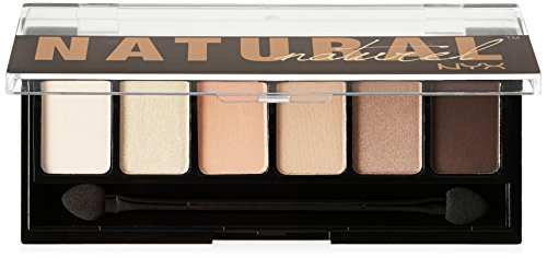 NYX Professional Makeup The Natural Shadow Palette, 0.21 Oun