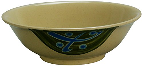 Yanco JP-5070 Japanese Soup Bowl, 36 oz Capacity, 2.25'' Height, 7.75'' Diameter, Melamine, Pack of 48 by Yanco