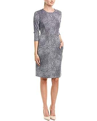 J.Mclaughlin Womens Sheath Dress, S, Blue