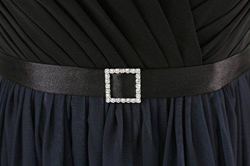 Bal En Mousseline De Soie Demoiselle D'honneur Couleur Gradient Paradis Papillon Robe De Soirée Perles Robe De Bal Av Cou Noir