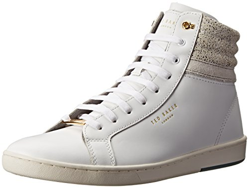 Ted Baker Men's Kilma 2 Fashion Sneaker, White Leather, 12 M US (Leather Ted Sneakers)