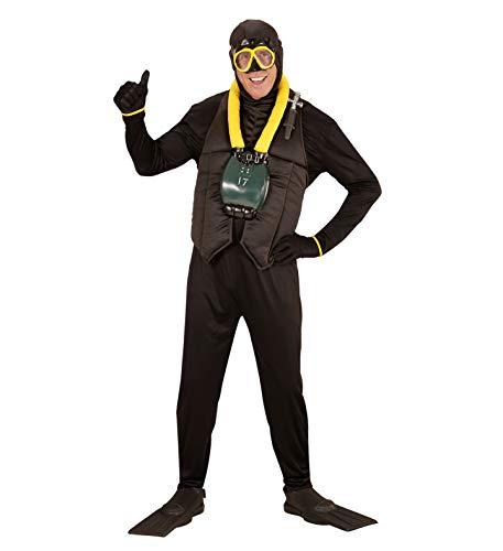 Partypackage Disfraz de buceador de Buceo para Adultos, Talla XL ...
