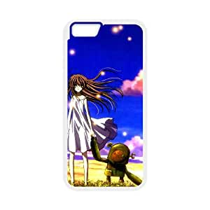 Clannad iPhone 6 4.7 Inch Cell Phone Case White yhaq
