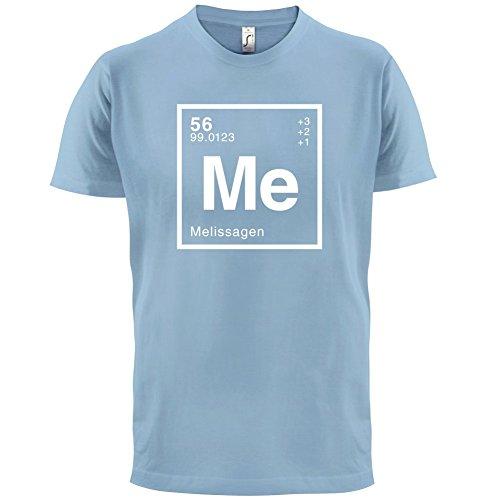 Melissa Periodensystem - Herren T-Shirt - Himmelblau - XL
