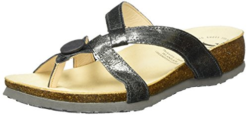 Think Julia, Chanclas para Mujer Gris (antrazit 14)