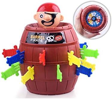 QTDS Cubo Pirata tío Espada Espada Pirata Barril Ciego Sobre el Mismo párrafo Juego de Mesa de Juguete de Fiesta Tidy Creativo (Size : Metro) : Amazon.es: Juguetes y juegos