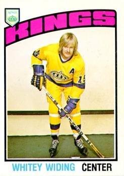 1976 O-Pee-Chee Regular (Hockey) Card# 354 Juha Widing of the Los Angeles Kings VGX Condition by O-Pee-Chee