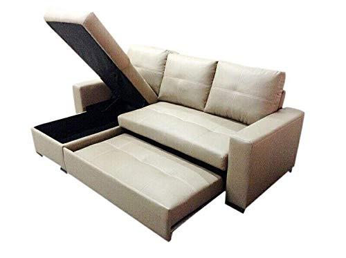 L Shape Sofa bed, beige