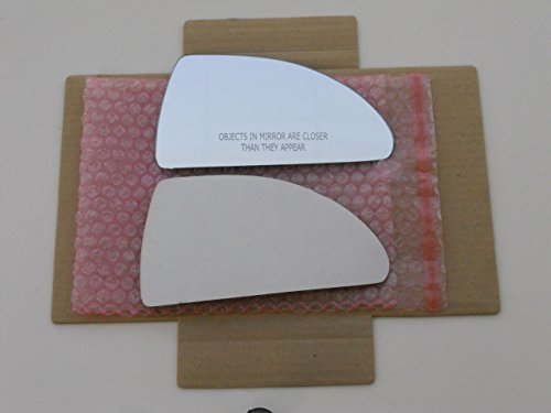 New Replacement Mirror Glass with FULL SIZE ADHESIVE for 06-12 CHEVROLET IMPALA Passenger Side View Right RH