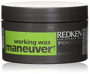Maneuver Work Wax Unisex Wax by Redken, 3.4 Ounce