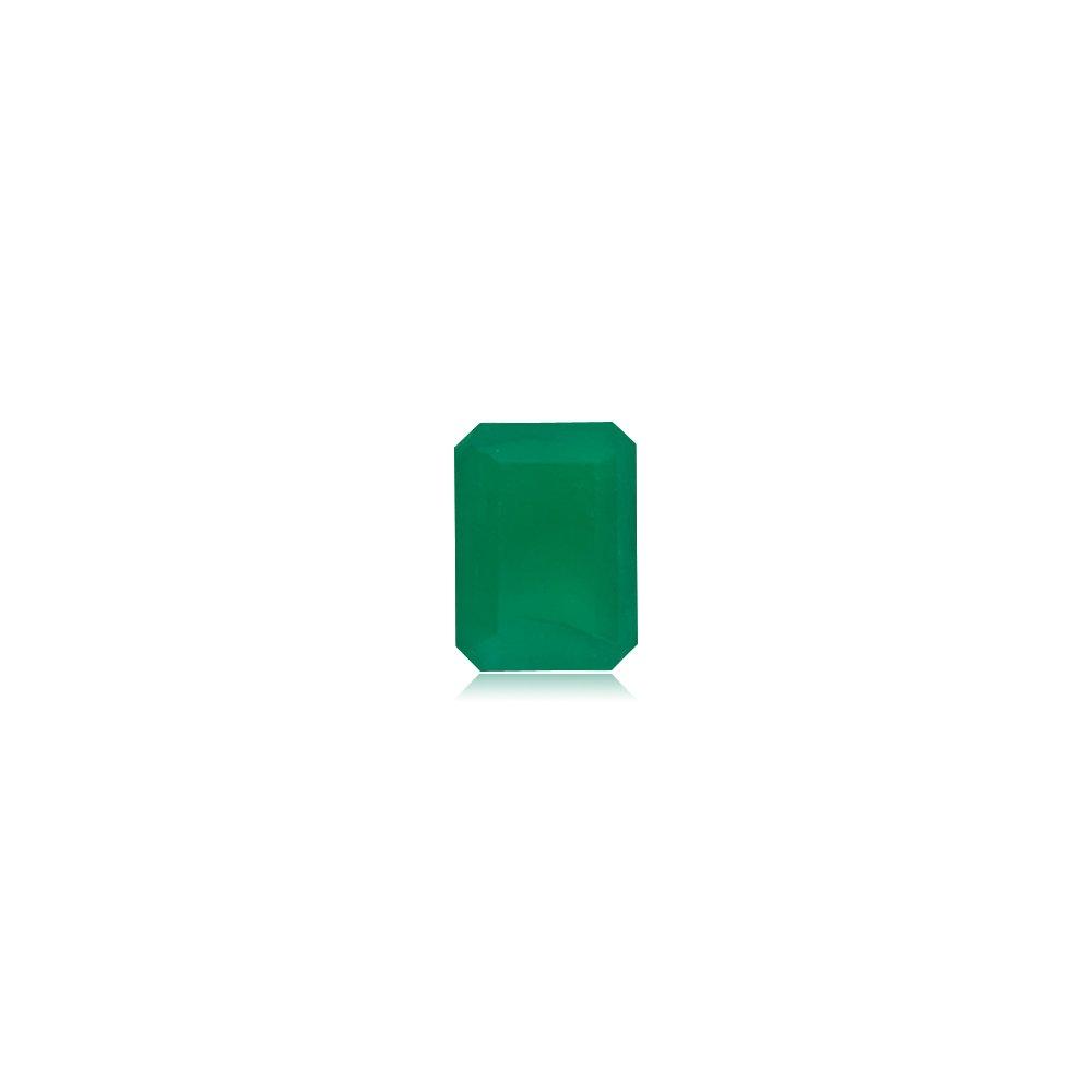 1.19-1.87 Cts of 8x6 mm A Emerald-Cut Natural Emerald (1 pc) Loose Gemstone