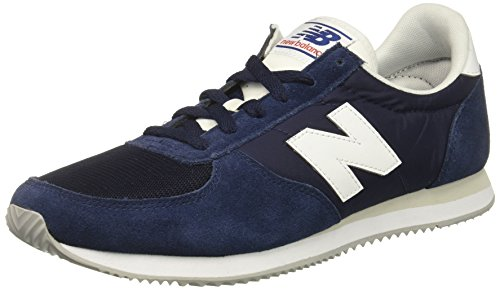 Homme Balance New 220 Nv blue Bleu white Baskets HSHtcRwxq