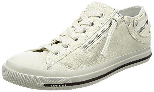 Diesel Magnete Expo-Zip Low W - Sh Y01209, Sneaker Basse Donna bianco
