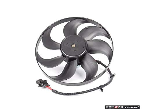 URO Parts 6X0 959 455F Left Auxiliary Fan Assembly (Auxiliary Audi Assembly Fan)
