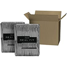 Depend Real Fit for Men Incontinence Briefs, Maximum Absorbency, Economy Plus Pack, Small/Medium, 56 Count by Depend