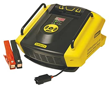 Amazon.com: STANLEY GBCPRO Golf Cart & Vehicle Battery Charger ... on power bank charger, jump box charger, delta q charger, 6 volt charger, hp tablet charger, electric scooter charger, power wheels charger, powerwise 36 volt charger, yamaha 48 volt charger, stanley model sl500hl charger, forklift charger, go pro charger, atv charger, parts of a charger, wiring diagram for cell phone charger, pebble watch charger, thunderbull 48 volt charger, lenovo laptop charger,