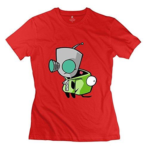 StaBe Girls Invader Zim Gir T-Shirt Slim Fit