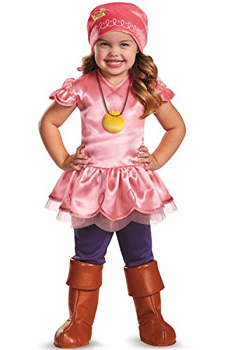 Girl's Disney Junior Jake and The Neverland Pirates Izzy Deluxe Costume, 3T-4T