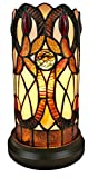 Amora Lighting AM337TL05 Tiffany Style Accent Table Lamp - Multicolor