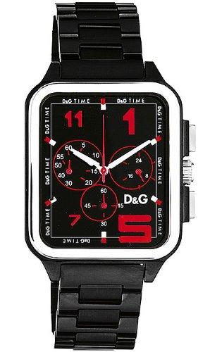 eb04ba3190 Dolce & Gabbana D&G - Reloj manual para hombre con correa de caucho, color  negro