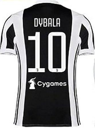 Juventus Nuevo Conjunto Equipacion Camiseta Jersey Futbol 2017-2018 Dybala 10 Replica Autorizado (6 años): Amazon.es: Deportes y aire libre