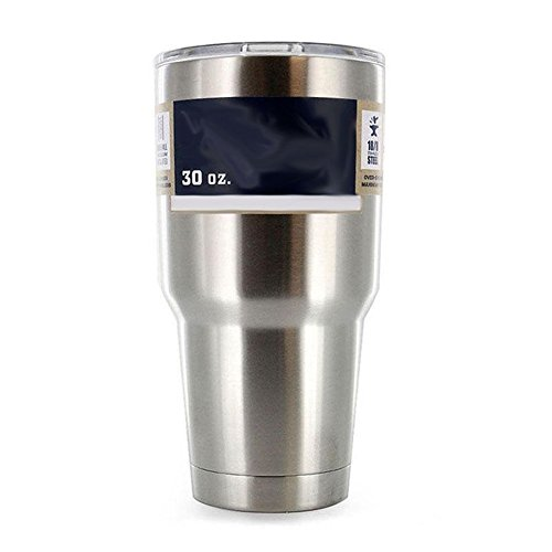 MEXUD-Hot Sale Stainless Steel Cup Coffee Mug Coolers Rambler Tumbler 2 Colors (Silver)