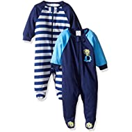 [Sponsored]Baby Boys' 2 Pack Zip Front Sleep 'n Play