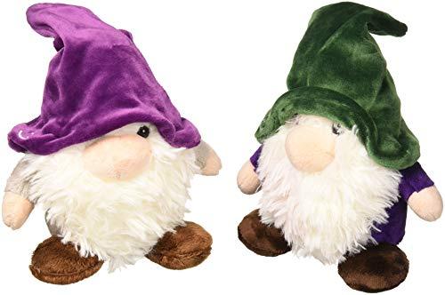 Aurora Gnomlin Stuffed Animals  - Spruce and Snow Gnomlin or Dordri & Twistdwadle  (Bundle of 2) -  Multicolor (Assorted)