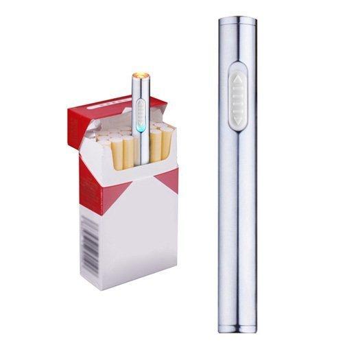 55 opinioni per Mini accendino USB, ricaricabile, antivento, accendino elettronico al plasma
