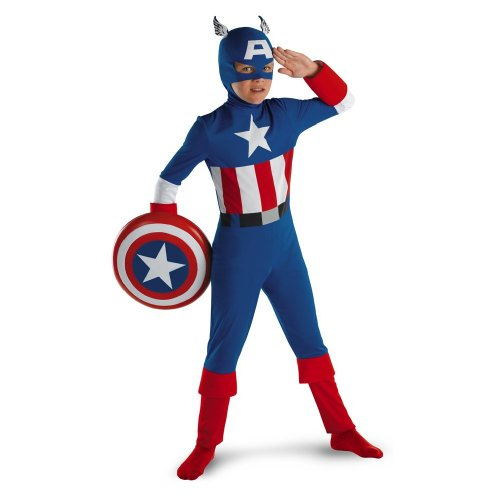 Captain America Classic - Size: Child -