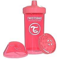 Twistshake 78074 Twistshake Kidcup 360Ml Suluk, Şeftali/ Pembe