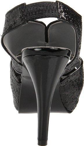 Glitter Alustan Naisten Dyeables Musta Kat Pumppu 88XAx