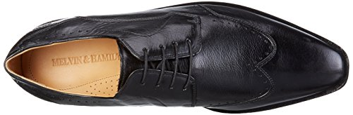Melvin&Hamilton Alex 3 - Zapatos de cordones derby Hombre Negro - Schwarz (Remo Black hRS)
