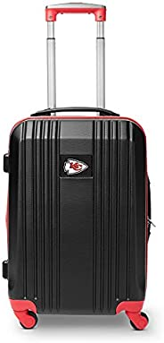 NFL Kansas City Chiefs Round-Tripper Two-Tone Hardcase Luggage Spinner