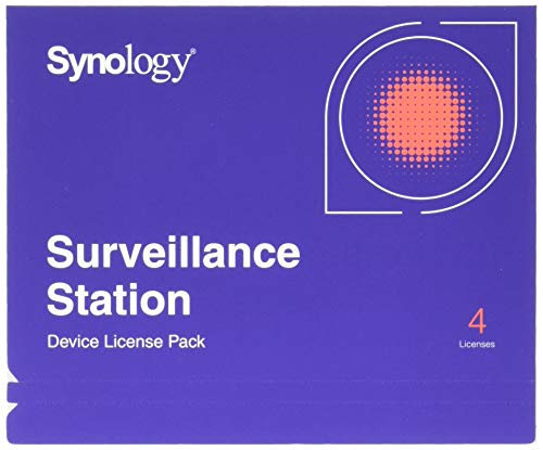 - Synology IP Camera License Pack for 4 (CLP4)