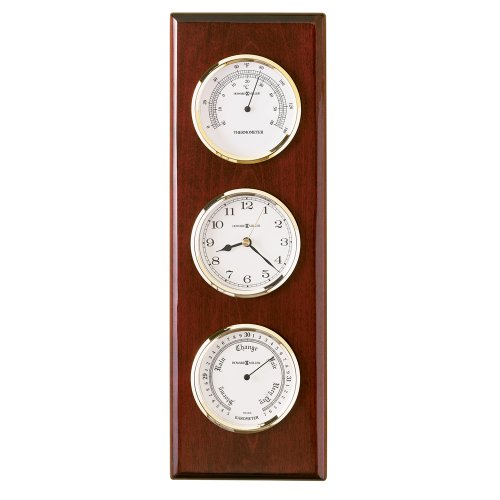 Shore Station Clock - Howard Miller Shore Station - Clock, Barometer, and Thermometer