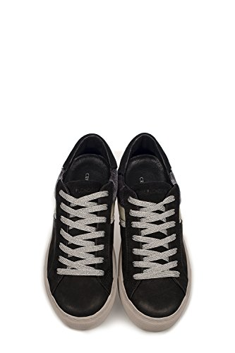 Nero Sneakers London Pelle Donna Crime 25342a17b20 RnWcR7