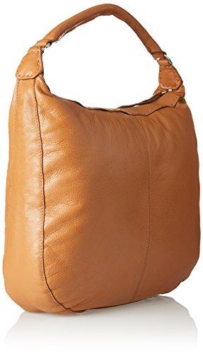 Size One Women's Yonkers Handbag Heasti Cognac Berlin Liebeskind Shoulder AF0Uvq6