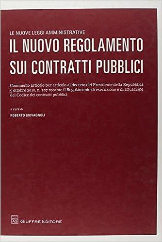 Book Il nuovo regolamento sui contratti pubblici