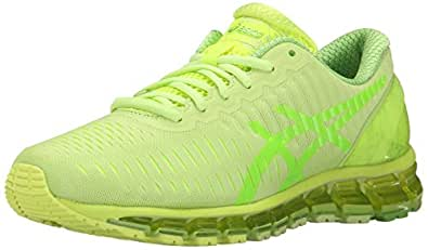 ASICS Women's Gel-Quantum 360 Running Shoe, Sharp Green/Jasmine Green/Flash Yellow, 6 M US