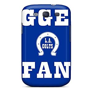 Hot Tpu Cover Case For Galaxy/ S3 Case Cover Skin - Indianapolis Colts